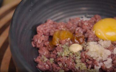Tataki de buey: textura delicada en cada bocado