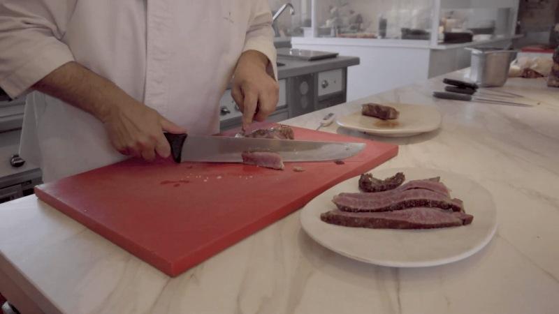 como cortar chuleta lomo